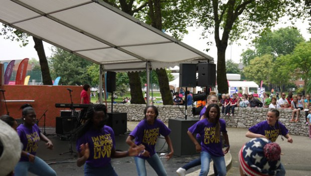 Streetdancers Event Newham Stratford London 2012
