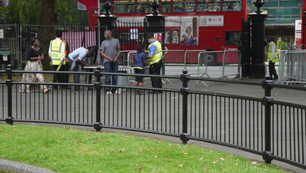 Security at Newham Park Stratford London 2012