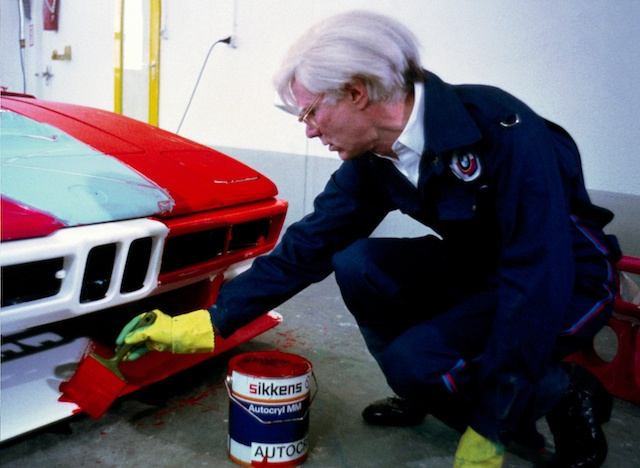 Andy Warhol BMW Art Drive Car