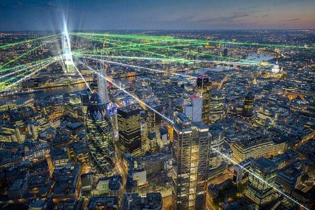 The Shard Laser Show London Inauguration