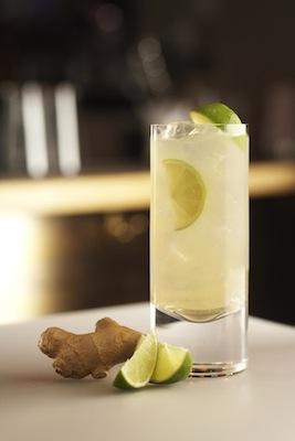 Apple Estate Jamaican Mule Rum Cocktail