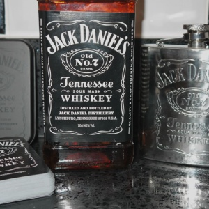 Jack Daniels Online Store Cards and Hip Flask